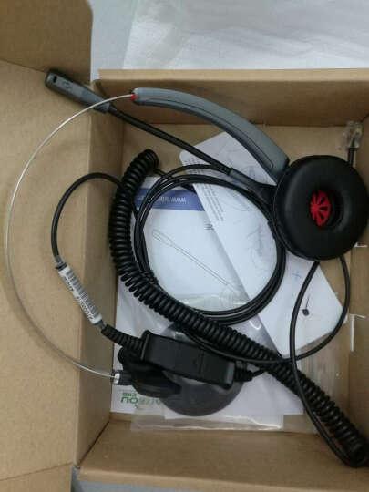 艾特欧A310呼叫中心话务耳机 客服耳麦 座机 电脑话务员耳机 A310+思科Cisco话机专用线 晒单图