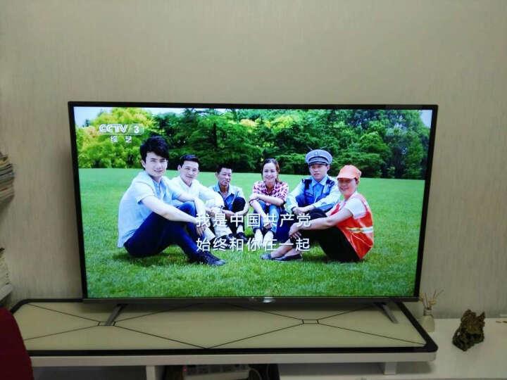 TCL D58A620U 58英寸 真4K护眼观影王 安卓智能十核LED液晶电视机(黑色) 晒单图