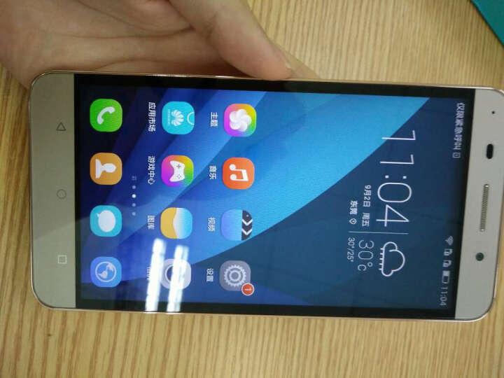 华为 荣耀 畅玩4X 白色 移动4G手机 双卡双待 晒单图