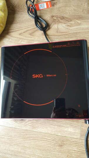 SKG电磁炉电陶炉家用茶壶炉不挑锅单环数码速显1685红色 晒单图