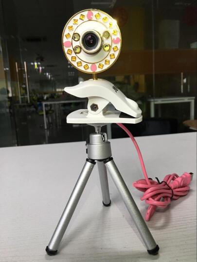 同星缘 外置高清美颜台式机摄像头笔记本 主播直播usb红外免驱动聊天网络视频YY720P 4S_720P 高清晰版 晒单图