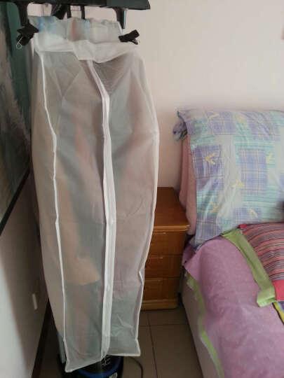 苏兹 衣服防尘罩 衣物防尘罩 透明立体防尘挂袋 礼服婚纱透明收纳袋 1大1中 晒单图