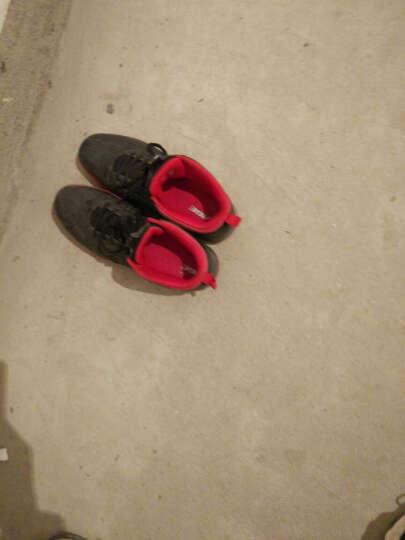 八哥篮球鞋男休闲运动鞋缓震防滑训练鞋高帮球鞋时尚旅游鞋篮球运动战靴夏季 黑色 2代 46 晒单图