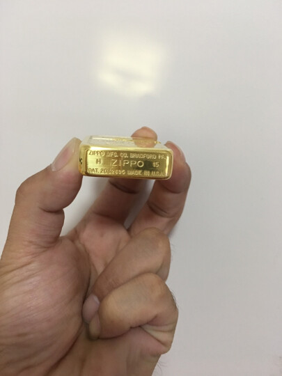 芝宝zippo打火机 二战经典1941复刻镀24K金砖标志 黄金甲 专柜正版防风之宝 晒单图
