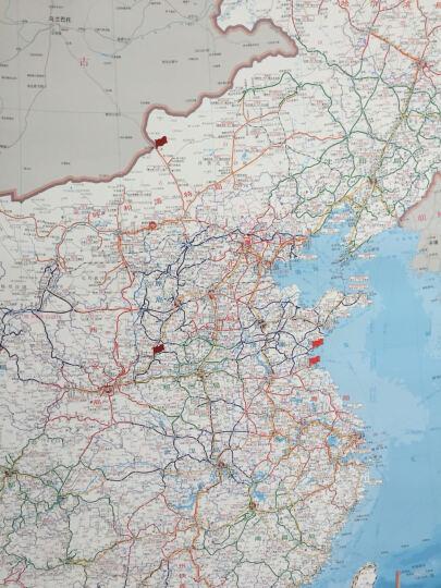 2019全新中国铁路交通图  铁路地图挂图 货运交通挂图 大幅面整张 1.65*1.2米 晒单图