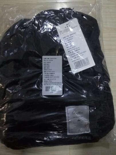 百峰(Baifeng)BF15S33A malta马耳他系列防泼水棉质帆布mini双肩包 黑色小号 晒单图