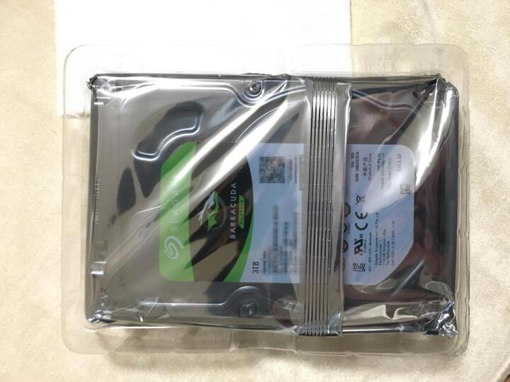 希捷(SEAGATE)酷鱼系列 3TB 7200转64M SATA3 台式机机械硬盘(ST3000DM008) 晒单图