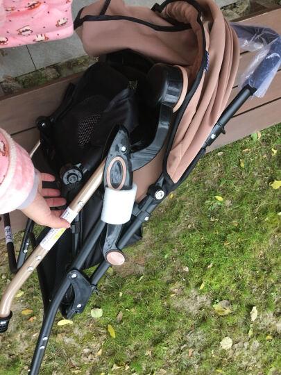 DIB 婴幼儿伞车手推车可拆卸冬夏轻便折叠宝宝车两用避震儿童伞车BB车可坐可躺小孩推车 卡其色 晒单图