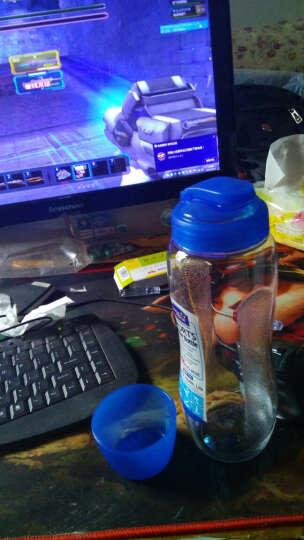 乐扣乐扣水杯700ml创意运动水壶水杯 PC杯子带盖防漏杯 HPP712 晒单图