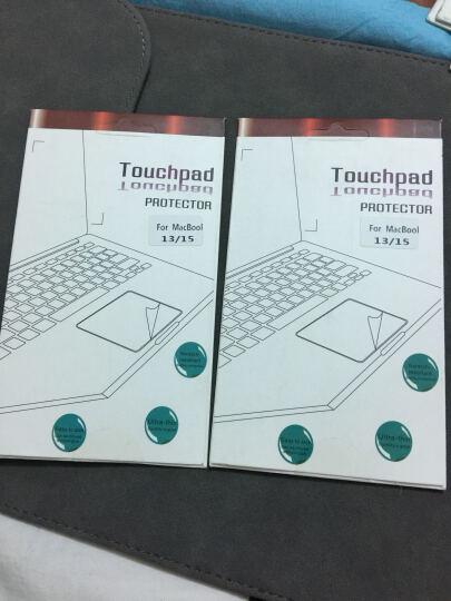 圣迪威(Sendio)苹果笔记本电脑Macbook  13.3/15.4英寸 (老款)触摸板贴膜 触摸板透明保护膜 轻薄 晒单图