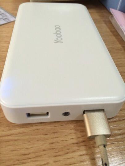 羽博( Yoobao)S9大容量充电宝20000毫安移动电源 双输出带LED灯白色 苹果/小米/安卓手机通用 晒单图