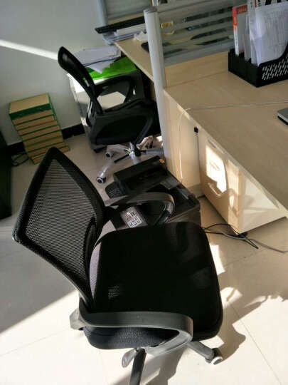 【丞懿】电脑椅 办公椅 家用电脑椅子升降转椅座椅人体工学椅 黑色 红色 晒单图
