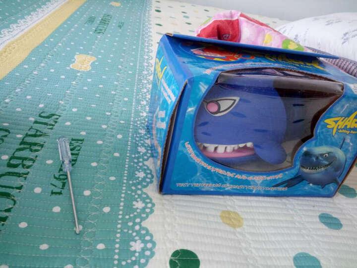 贝伦多鲨鱼玩具 咬手指的大嘴巴鳄鱼创意好色鸟叔恶搞人整蛊喷水马桶玩具懒蛋呕吐蛋 懒蛋玩具呕吐恶心蛋 晒单图