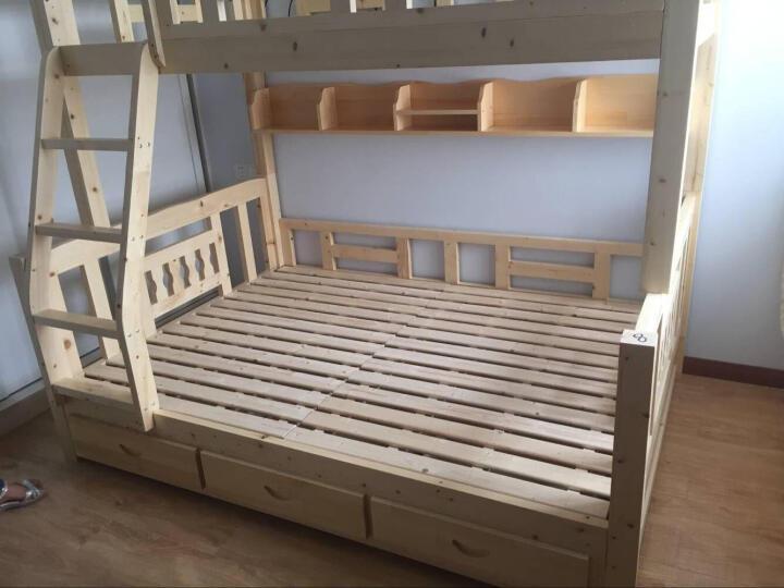 舒昕 包安装 F18床 实木床  松木床 上下铺 上下床 高低床 母子床 双层床 分体直梯下1.5上1.3长2.05 晒单图