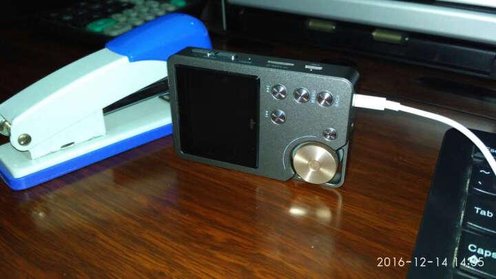 爱国者(aigo)mp3播放器 MP3-105  hifi播放器 高清无损音质播放器 便携随身听 8G内存 可插卡 灰色金键 晒单图
