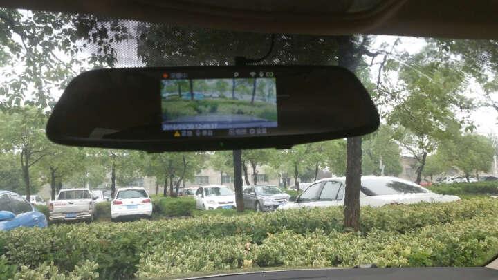 360行车记录仪后视镜版 J521 5.0英寸高清大屏 广角星光夜视 智能手势拍照 停车监控 wifi连接 黑色 晒单图