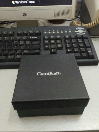 CairdKafir皮带男真皮自动扣 头层牛皮男士腰带商务款 CK061咖啡色 晒单图