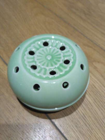 王太医 艾灸马甲 陶瓷艾灸罐艾灸杯随身灸便携式足灸盒 款式四白色蓝花 晒单图