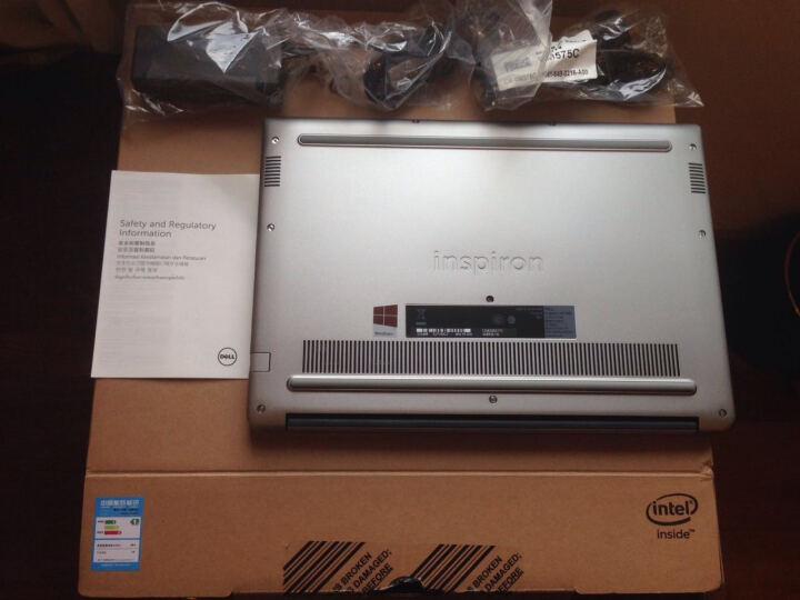 戴尔DELL灵越燃7000 R1725P 14.0英寸轻薄窄边框笔记本电脑(i7-7500U 8G 128GSSD+1T 2G独显 FHD)元気粉 晒单图