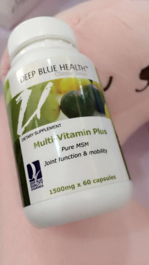 【新西兰原装进口】深蓝健康 复合维生素胶囊 提高免疫缓解疲劳 1500mg*60粒 1瓶装 晒单图