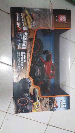 活石 宝宝玩具车 小孩越野遥控汽车可充电遥控礼盒装1-6岁 中国红-合金车身 晒单图