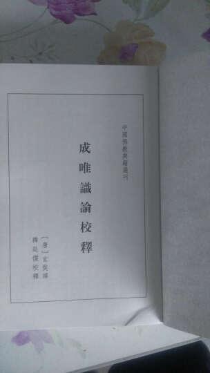 中国佛教典籍选刊:成唯识论校释 晒单图