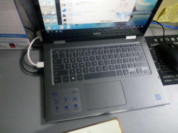 戴尔(DELL)魔方13MF pro 13.3英寸触摸翻转二合一笔记本电脑 定制版 中国画-菊花 2605TA灰色i5-7200u-8G-256固态 晒单图