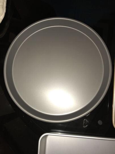 爱享佳(ienjoy +) 烘焙工具 不沾披萨烤盘 6寸8寸9寸 圆形浅匹萨盘 烤箱配件 11寸 231011 晒单图