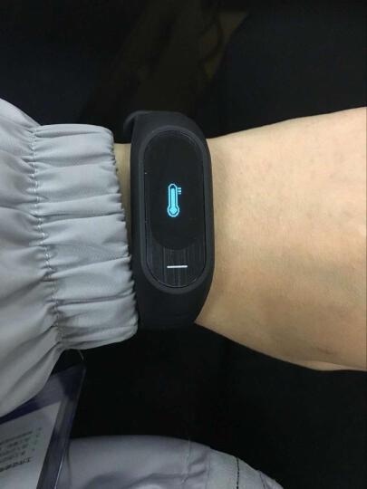 博之轮(BOZLUN)智能运动手环男女运动血压心率防水手表来电提醒健康计步器支持安卓苹果 白色(测血压心率版B15P) 晒单图