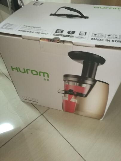 惠人(HUROM) 原装进口2017升级二代加强版榨汁机HU-7000WNTM  酒红色 晒单图