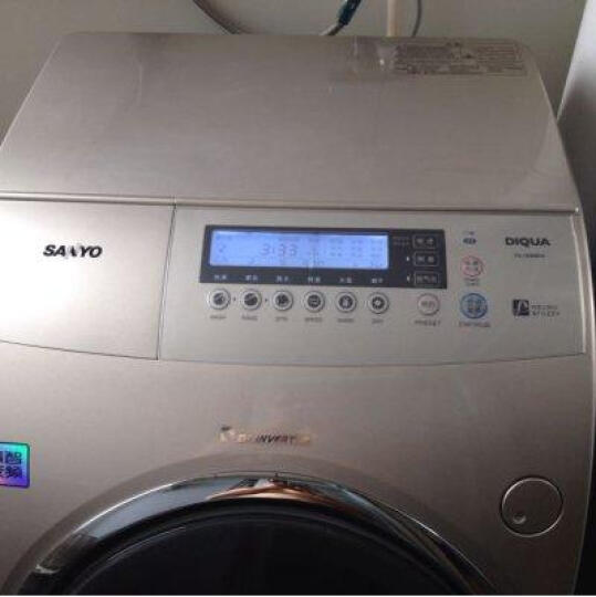三洋(SANYO) DB85399BDA 8.5公斤DD变频波轮洗衣机全自动电解水除菌自动添加洗衣液 晒单图