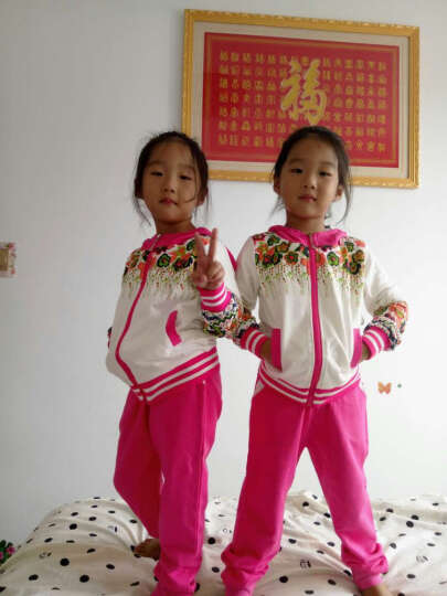 童装女童秋装2018新款10儿童运动套装11大童女装12岁女孩13周岁15 紫色40%小女孩喜欢 140 晒单图