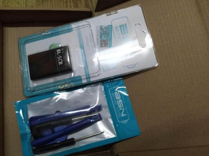 【京东配送】BSN 诺基亚BL-5CB/A 适用nokia 1100 1112 1110 BL-5CB电池 晒单图