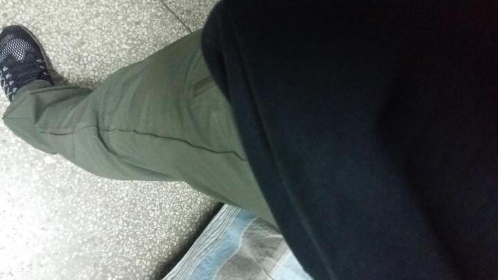 诺诗兰/NORTHLAND 速干长裤 情侣款 速干排汗GQ055903 女-海湾蓝色 165 晒单图