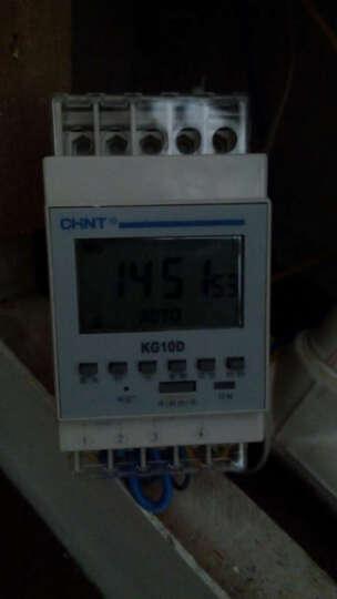 正泰 时间开关时控开关定时器循环电源控制器 NKG10D一常开型 晒单图