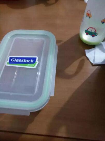 三光云彩GLASSLOCK韩国进口钢化玻璃分隔饭盒微波炉碗保鲜盒便当盒保温袋 男神热卖款 分隔1000ml+715ml 晒单图