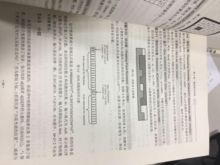 算法竞赛入门经典+算法竞赛入门经典.训练指南 刘汝佳 晒单图