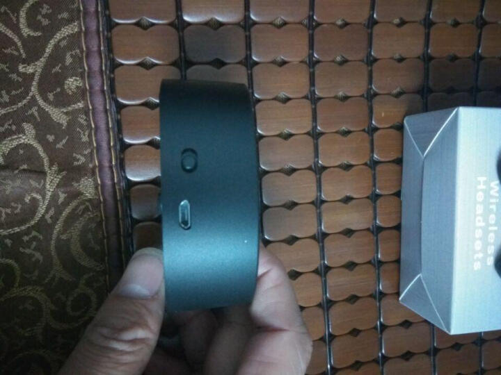 发掘者 真无线蓝牙耳机双耳迷你超小隐形蓝牙耳机 分离式运动跑步4.2车载 通用 黑色 晒单图