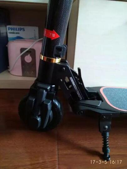 HIMIWAY 电动滑板车 成人折叠电动车自行车碳纤维轻便迷你电瓶车代驾代步车 白色碳纤维 续航35公里左右 晒单图