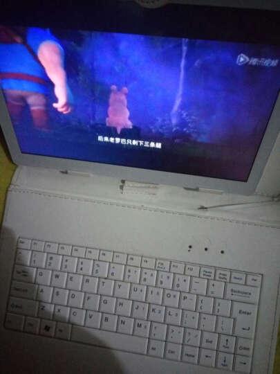 uniscom 学习机学生平板电脑点读机幼儿小学初中高中同步早教机 英语家教机 MZ60土豪金色16G+学习软件 官方标配+键盘 晒单图