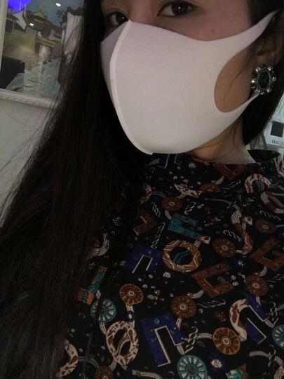 日本原装进口 PITTA MASK 防尘口罩方花粉灰尘 成人款白色3枚装 晒单图