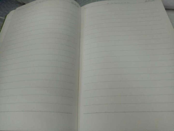 广博(GuangBo) 128页A5创意皮面笔记本子 商务办公记事本/日记本 紫色128张 晒单图