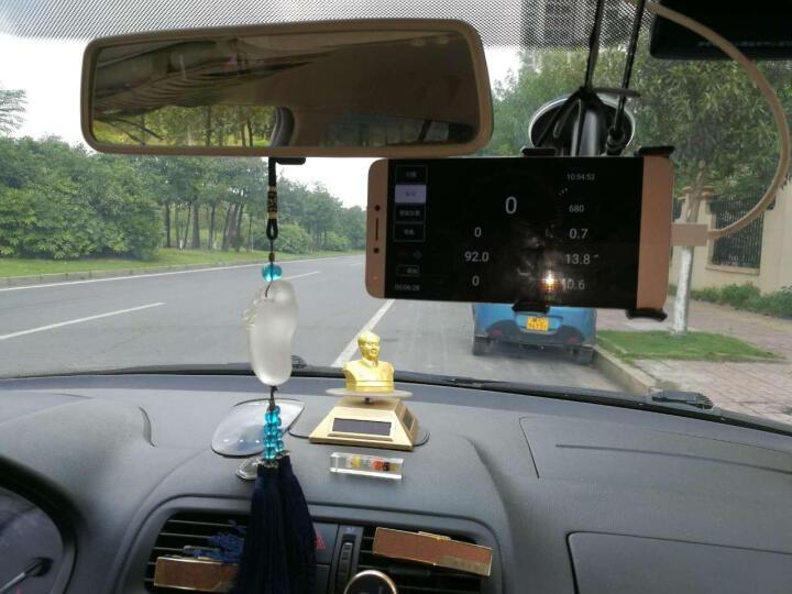 优驾 车载智能盒子胎压监测器 外置内置 汽车故障检测仪 无线obd行车电脑蓝牙系统 外置胎压单品手机支架套装 晒单图
