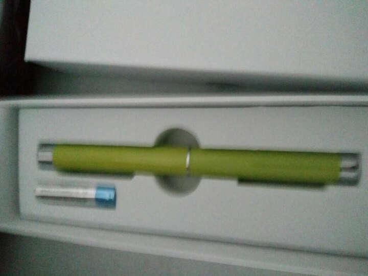 诺为(KNORVAY)N35翻页激光笔 办公教学会议培训指挥笔 投影笔 电子教鞭演示笔 果绿色送笔袋 晒单图