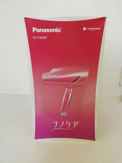 松下(Panasonic) 纳米负离子EH-NA59/58/98家用风筒电吹风机便携折叠 新款na59银色直邮包邮包税 晒单图