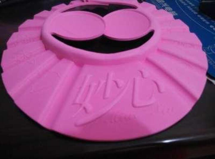 妙心 洗发帽 宝宝洗头帽 儿童浴帽儿童可调洗澡帽 防水帽 粉色(MS-022) 晒单图