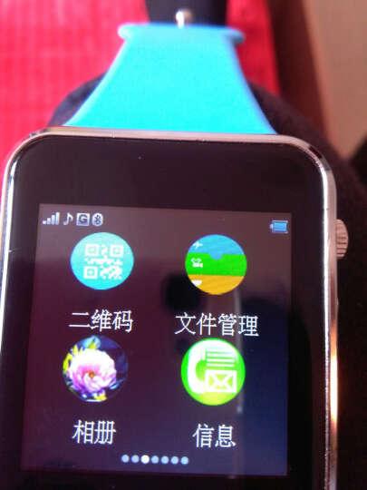 【送内存卡】妙弦 儿童电话手表智能手表手机插卡通话触屏定位电话手表学生 尊享版黑色 定位+APP下载+16G卡 晒单图