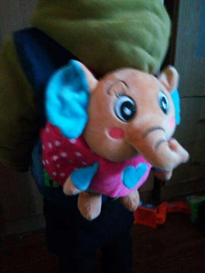 幼儿园大小班儿童书包男女婴儿背包 1-3岁可爱卡通点点象背包 粉色点点象 晒单图