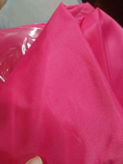 雨衣男女雨披电动车摩托车加大雨衣单人加厚时尚透明大帽檐雨披双帽檐雨披双面罩加大雨衣 大帽檐宝蓝色 晒单图