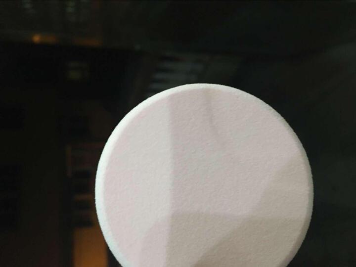 拉美拉(LAMEILA) 拉美拉多功能化妆粉扑 圆形磨边干粉扑 海绵6片盒装 B0822 粉红色 晒单图
